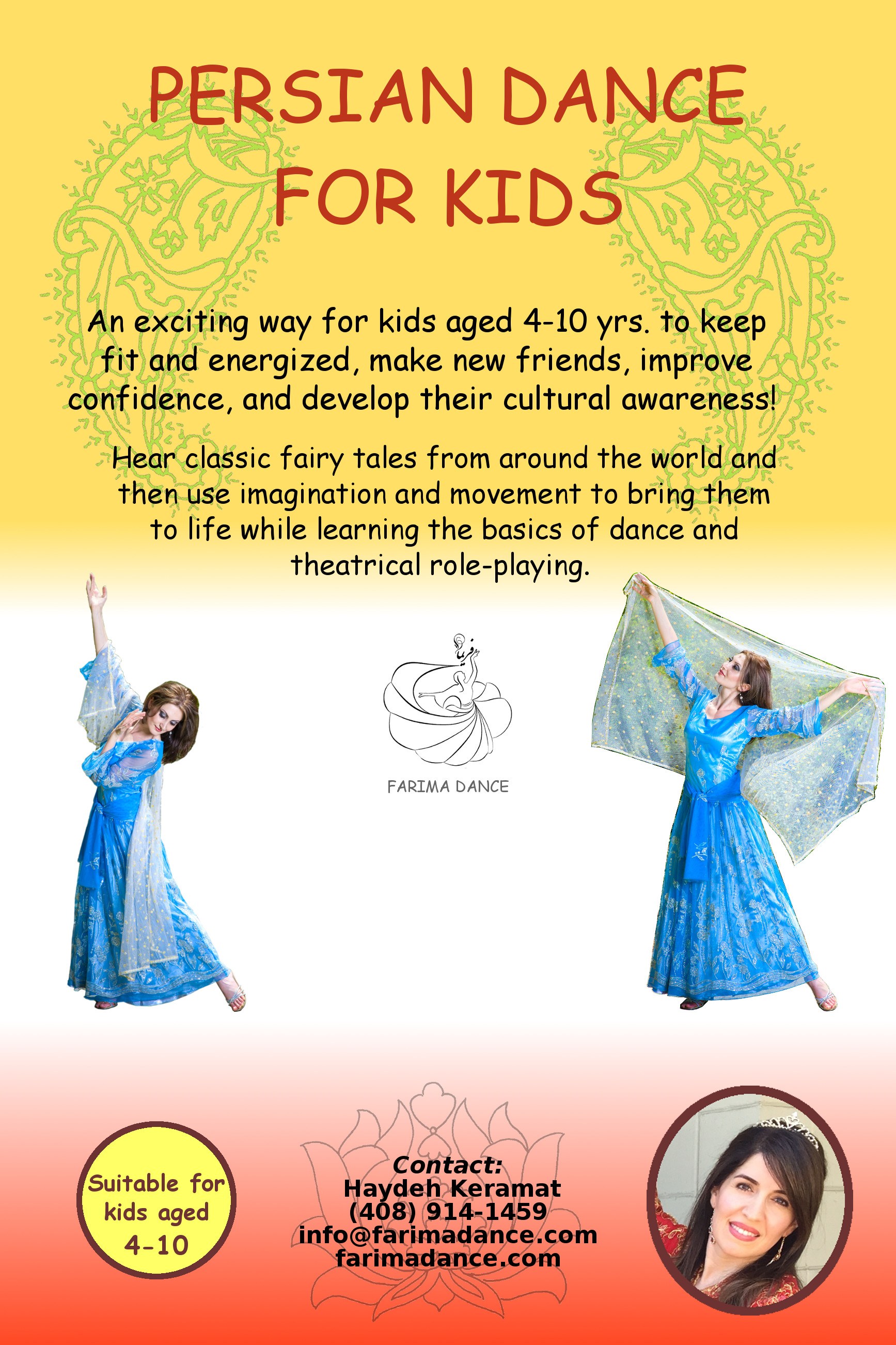 Persian Dance for Kids