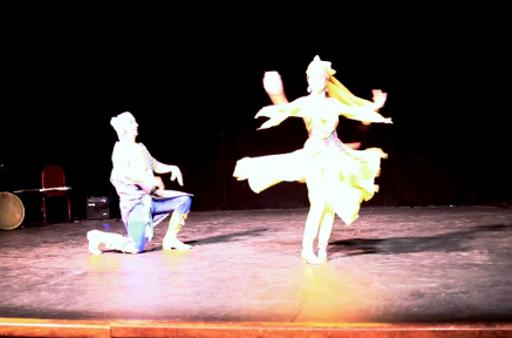 Uzbek Dance with Rashid Sadat