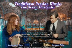 Traditional Persian Music Focused on the Seven Dastgahs